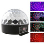 Bola Maluca Led Rgb Crystalball Mp3 Usb Sd Balada Festa