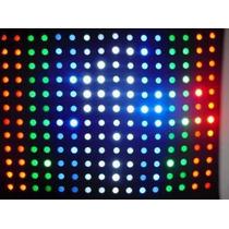 Cortina Led Rgbw Sensor De Som 5,00 X 3,00 Painel Djs Show