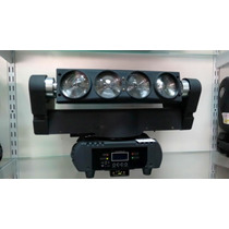 Moving Beam Spider Led Com Motor 8x10w Rgbw 4in1