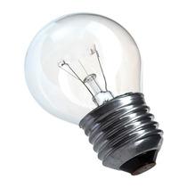 Kit 100pçs: Lampada Bolinha Clara 127v X 40w E27 Bc Quente