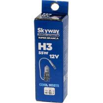 Lâmpada Super Branca Faról Milha H3 55w Homologada Inmetro