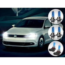Kit Lâmpada Super Branca | Vw Jetta | 2011 2012 2013 2014