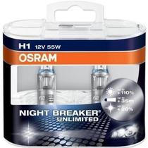 Lâmpadas Farol Alto New Beetle 2007 Osram Night Breaker-h1