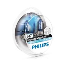 Par De Lâmpada H7 Philips Diamond Vision 5000k