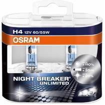 Lâmpadas Farol Alto Spacefox 2008 Osram Night Breaker-h4