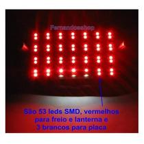 Placa De Led P/ Yes , Cb500 , Cg Titan Today , Cbx Strada