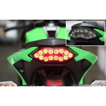 Lanterna Led Seta Integrada Ninja 300 - Fumê