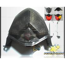 Lanterna Fumê Seta Integrada Led P/ Z750 E Z1000 Kawasaki