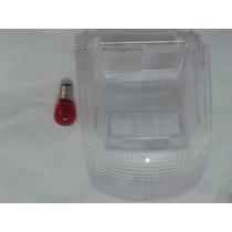Lente Lanterna Traseira Cristal Honda Pop 100 + Lampada