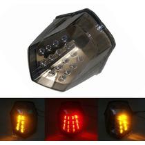 Lanterna Led C/ Pisca Integrado Yamaha Xj 6 Xj6 N/ F - Fumê