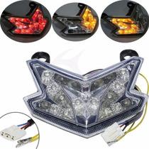 Lanterna Integrada Cristal Led Kawasaki Zx636-zx6r-z800
