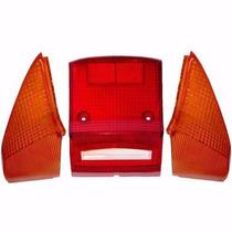 Lentes Da Lanterna C/ Piscas Traseiras Honda C 100 Dream