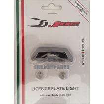 Lanterna De Placa Led Moto Joc Italian Design Importado