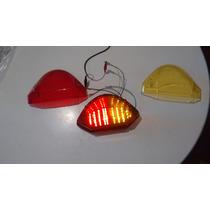 Lanterna Traseira Com Pisca Integrado Para Hornet 2005/07