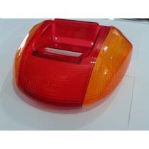 Lente Da Lanterna Traseira Completa Honda Biz 100 - 3 Pçs