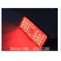 Lanterna Luz E Freio Traseira Moto 27 Leds Universal