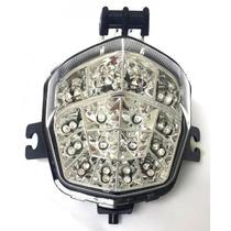 Lanterna Sinaleira Led C/ Piscas Suzuki Bandit Gsx 650 N 11