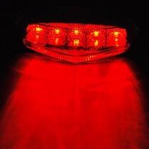 Lanterna Universal De Led Para Moto Xt Xtz Cg Bross Tornado