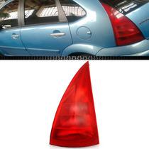 Lanterna Traseira C3 03 04 05 06 07 Toda Vermelha