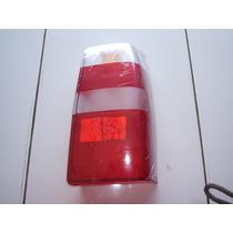 Lente Lanterna Traseira Fiat Fiorino 05 06 07 Bicolor - Nova