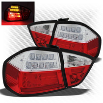 Tuning Imports Par Lanterna Em Barra D Leds Bmw S3 E90 06-08