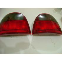 Pointer Lanterna Fumê Completa C/ Soquete E Lamp Original Vw