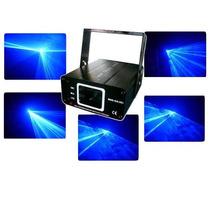 Laser Azul 400 Mw + Dmx Muito Lindo Efeitos