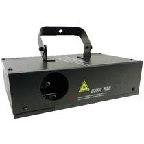 Laser B2000 Rgb 7 Cores Dmx Aitvado Pelo Som Veja Video!!!