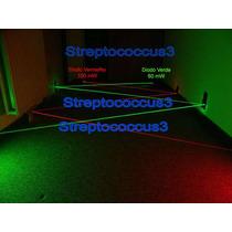 Diodo Laser Show Verde Astronomia Dj 300mw 350mw Green 532nm