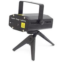 Mini Projetor Laser Efeitos Especiais 3d Ativado Por Som Fes