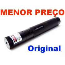 Laser Pointer Verde 10000mw Acende Fósforo C/chave Seg+forte