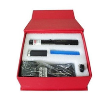 Super Caneta Laser Pointer Verde + Kit Completo 10km