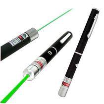 Caneta Laser Green Pointer Verde 5 Ponteiras