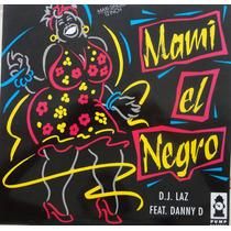 Dj Laz - Mami El Negro (miami Bass Capa Picture Raro)