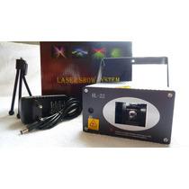 Projetor Mini Laser Holográfico Com Raios Yx030 P/ Dj Festa
