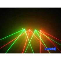 Laser 4 Saídas Verde-vermelho + Case Luxo