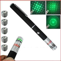 Caneta Laser Green Point 5 Ponteiras - 300mw Oferta !