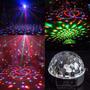 Bola Maluca Led Rgb 18w Dmx Crystal Ball Projetor Holográfic
