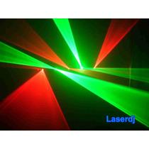 Laser Show 5 Saidas Verde-vermelho - Iluminação Profissional
