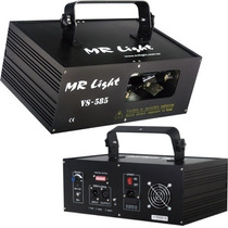 Laser Dmx Duas Cores 300 Mw Verde E Vermelho Para Djs