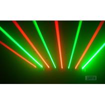 Scan Laser 8 Saídas Verde E Vermelho, Laser Multi Efeito