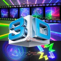 Laser Show L3d Rgb 3d 1.1w Grafico, Animado Desenha Escreve