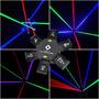 Laser Show Ufo Rgb 6 Saídas Beam+case Grátis+nf+garantia