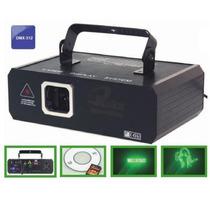 Laser Verde Dmx 100mw Com Graficos Personalizados Em Cartao