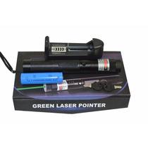 Caneta Laser Pointer Verde Alcance 16 Km 1000 Mw Dj Balada