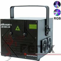 Laser Show Rgb 2000mw - 2w Gráfico Dmx Ilda + Controlador