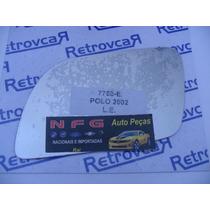 Lente Espelho Do Retrovisor Vw Polo 2002