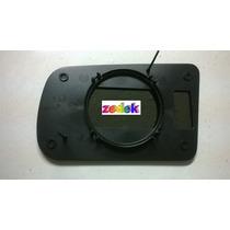Base+lente Espelho Retrovisor Tempra Contr. Manual- Direita