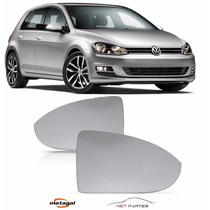 Lente Retrovisor Golf 2014 A 2016 Original