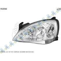 Farol Ld Le H7 H1 Corsa Sedan Hatch 02/...